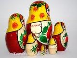Traditionele Matroesjka 'Rossiyanka', 6-delig_