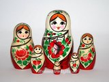 Traditionele Matroesjka 'Sudarushka', 6-delig_