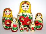 Traditionele Matroesjka 'Rossiyanka', 7-delig_