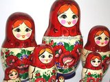 UITVERKOCHT Traditionele Matroesjka 'Souvenir', 12-delig_
