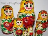 UITVERKOCHT Traditionele Matroesjka 'Rossiyanka', 9-delig_