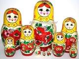 Traditionele Matroesjka 'Rossiyanka', 10-delig_