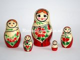 Traditionele Matroesjka 'Sudarushka', 5-delig_