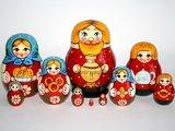 Matroesjka 'Familie', 10-delig_