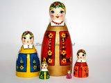 Matroesjka 'Khorovod', 5-delig_