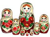 UITVERKOCHT Traditionele Matroesjka 'Sudarushka', 8-delig_