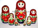 UITVERKOCHT Traditionele Matroesjka 'Souvenir', 10-delig_