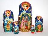 Matroesjka-sprookje 'Het sprookje van tsaar Saltan'_