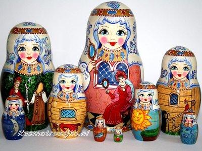 UITVERKOCHT Exclusieve Matroesjka-sprookje 'Het verhaal van de dode prinses'