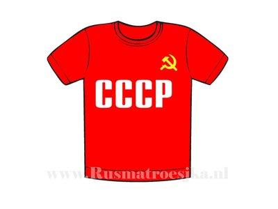 CCCP USSR T-shirt heren
