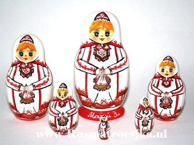 Matroesjka 'Mari-El', 6-delig