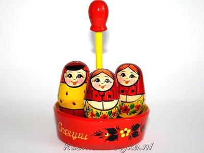 Matroesjka 'Peper en zout stel'