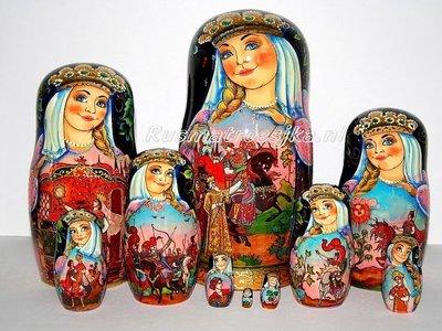 Exclusieve Matroesjka-sprookje 'Het verhaal van de dode prinses'