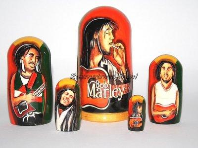 Matroesjka 'Bob Marley'